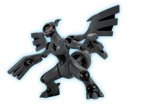 Image 2 for Pocket Monsters - Zekrom - Pokemon Plamo (Bandai)
