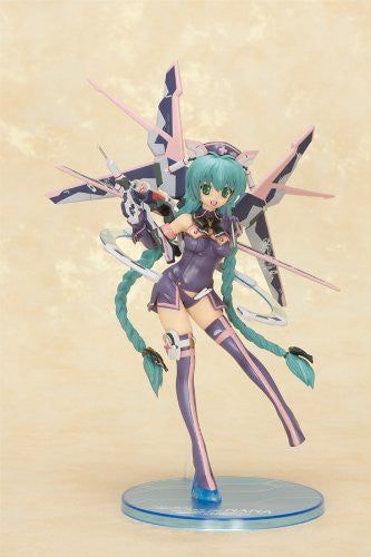 Image 2 for Original Character - Sukumizu Mecha Nurse Shoujo Nana - 1/8 - Dark Mint Berry ver. (Orchid Seed)