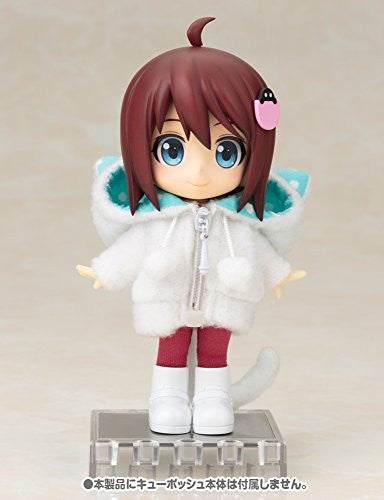 Image 6 for Cu-Poche - Cu-Poche Extra - Animal Parka Set - White Cat (Kotobukiya, Noix de Rome)