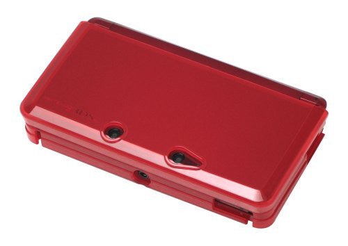 Image 2 for TPU Body Cover 3DS (clear red)