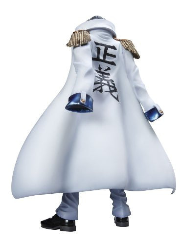 Image 2 for One Piece - Aokiji - Excellent Model - Portrait Of Pirates DX - 1/8 - Repaint with Coat (MegaHouse)