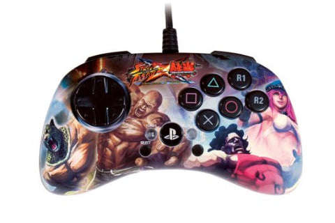 Street Fighter x Tekken FightPad SD (Poison & Hugo V.S. King & Marduk)