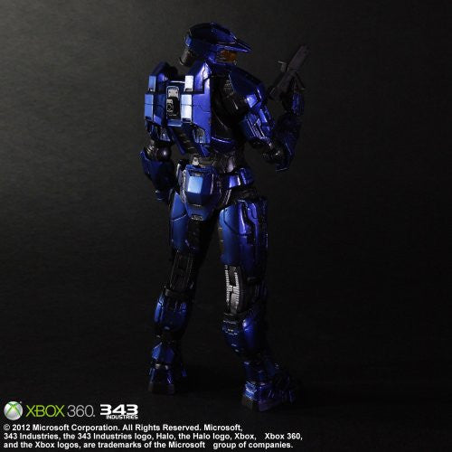 Image 3 for Halo: Combat Evolved - Spartan Mark V - Play Arts Kai - Blue (Microsoft Square Enix)