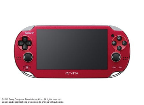 Image 6 for PSVita PlayStation Vita - 3G/Wi-Fi Model (Cosmic Red) (PCH-1100 AB03)