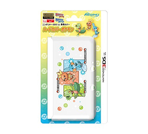 Image 1 for Pokemon Hard Cover for 3DS LL (Treecko Torchic Mudkip)