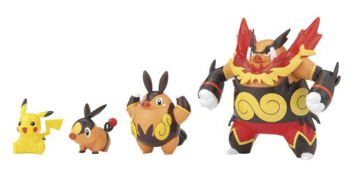 Image 3 for Pocket Monsters - Pikachu - Pokemon Evolution Set - Pokemon Plamo - 16 (Bandai)