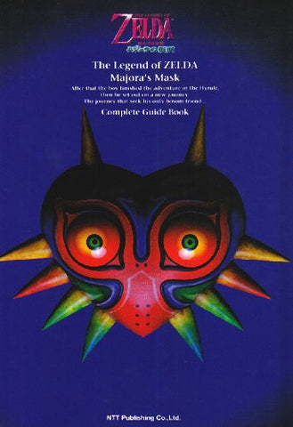 Image for The Legend Of Zelda: Majora's Mask Complete Strategy Guide Book/ N64