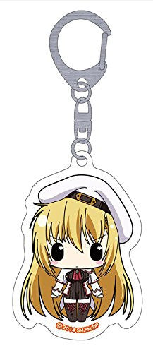 Image 1 for Seikoku no Dragonar - Silvia Lautreamont - Clear Keychain - Keyholder (Penguin Parade)