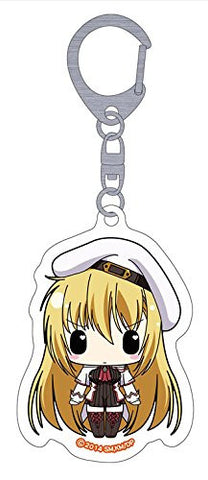 Image for Seikoku no Dragonar - Silvia Lautreamont - Clear Keychain - Keyholder (Penguin Parade)