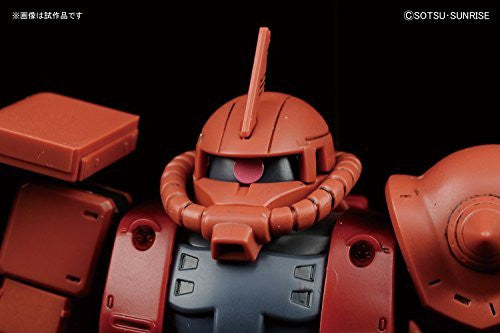 Image 6 for Kidou Senshi Gundam: The Origin - MS-06S Zaku II Commander Type Char Aznable Custom - HG Gundam The Origin - 1/144 (Bandai)