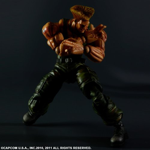 Image 4 for Super Street Fighter IV - Guile - Play Arts Kai (Square Enix)