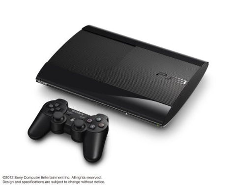 Image for PlayStation3 New Slim Console (250GB Charcoal Black Model) - 110V