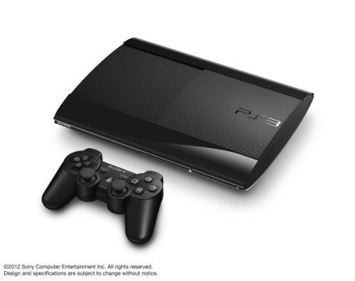 Image 1 for PlayStation3 New Slim Console (500GB Charcoal Black Model) - 110V