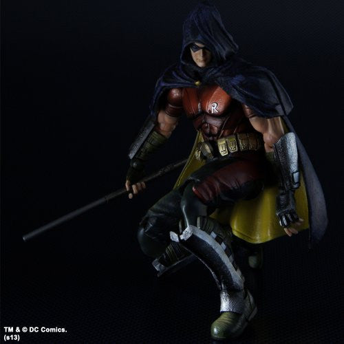 Image 7 for Batman: Arkham City - Robin - Play Arts Kai (Square Enix)