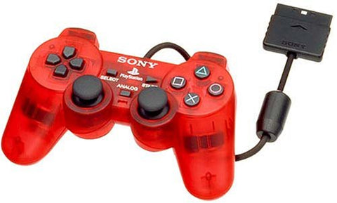 Playstation 2 Analog Controller Crimson Red (Dualshock2)