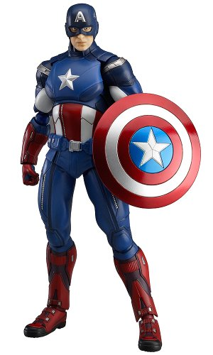 Image 1 for The Avengers - Captain America - Figma #226 (Max Factory)