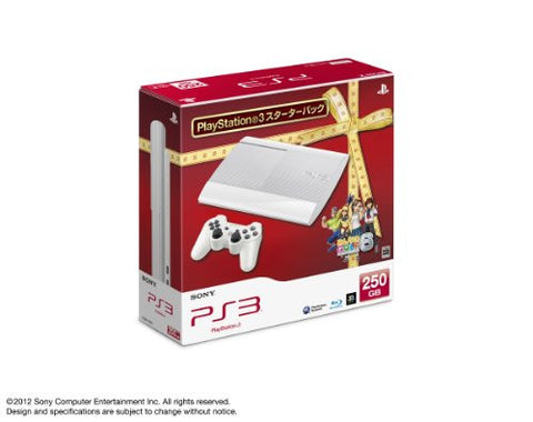 Image for PlayStation3 New Slim Console - Minna no Golf 6 Starter Pack (250GB Classic White Model)