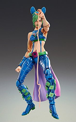 Image 3 for Jojo no Kimyou na Bouken - Stone Ocean - Jolyne Cujoh - Super Action Statue #68 (Medicos Entertainment)