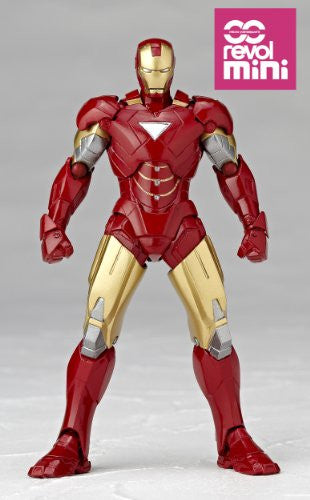 Image 2 for Iron Man 2 - Iron Man Mark VI - Revolmini rm-003 - Revoltech (Kaiyodo)