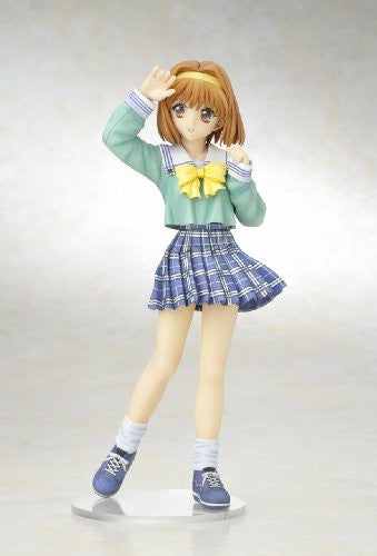 Image 2 for Sister Princess - Kaho - 4-Leaves Legend Girls - 1/7 - School Uniform ver. (Kotobukiya)