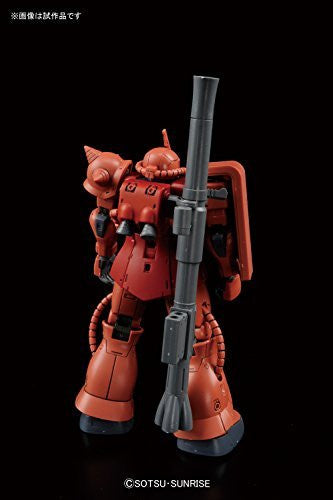 Image 4 for Kidou Senshi Gundam: The Origin - MS-06S Zaku II Commander Type Char Aznable Custom - HG Gundam The Origin - 1/144 (Bandai)