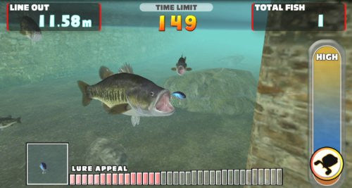 Image 8 for Let's Try Bass Fishing: Fish On Vita
