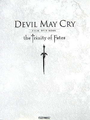 Image for Devil May Cry Film Dvd Book   The Trinity Of Fades