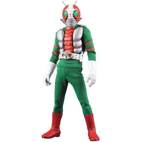 Image 2 for Kamen Rider V3 - Real Action Heroes No.448 - 1/6 - Renewal Edition (Medicom Toy)
