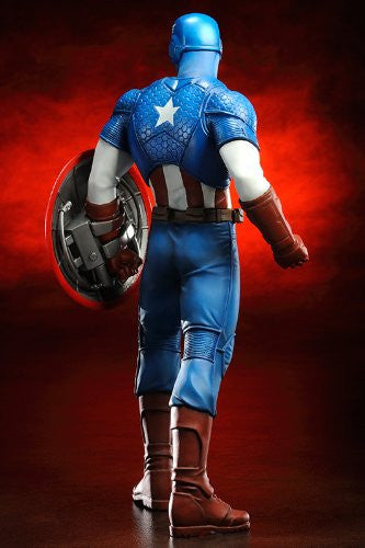 Image 3 for The Avengers - Captain America - ARTFX+ - Marvel The Avengers ARTFX+ - 1/10 (Kotobukiya)