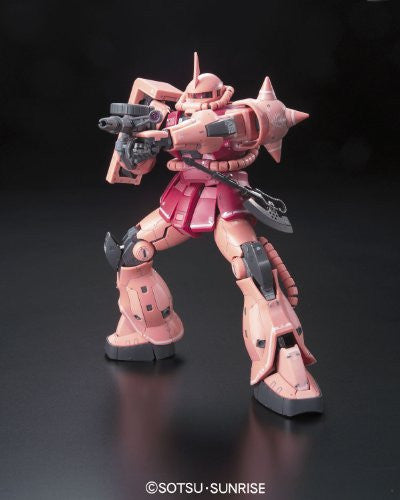 Image 10 for Kidou Senshi Gundam - MS-06S Zaku II Commander Type Char Aznable Custom - RG - 1/144 (Bandai)