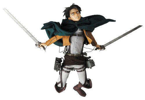 Image 12 for Shingeki no Kyojin - Levi - Real Action Heroes #662 - 1/6 (Medicom Toy)