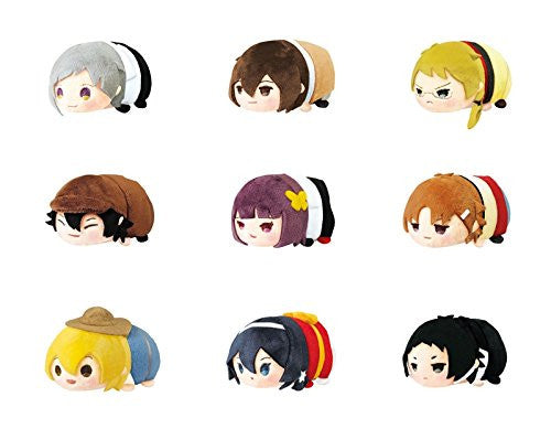 Image 1 for Bungou Stray Dogs - Bungou Stray Dogs Mochi Mochi Mascot - Mochi Mochi Mascot - 1 Box = 9 random Mascots