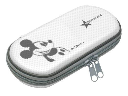 Image 2 for Disney Character Hard Pouch Portable (Mickey White)