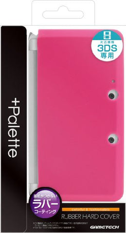 Image for Palette Rubber Hardcover for 3DS (Rose Pink)