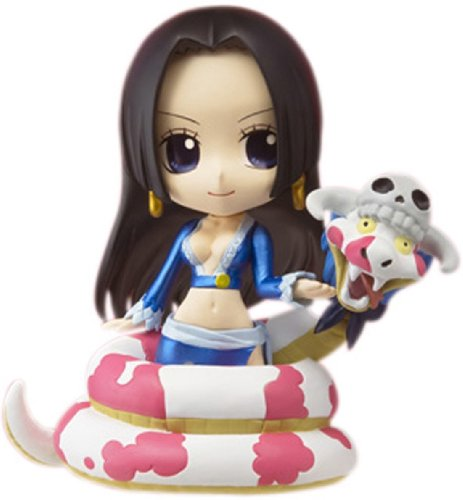 Image 1 for One Piece - Boa Hancock - Salome - Chibi-Arts - With Salome ver. (Bandai)