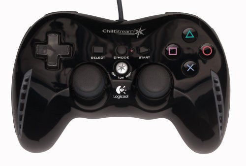 Game Controller Logicool Chillstream (Black)