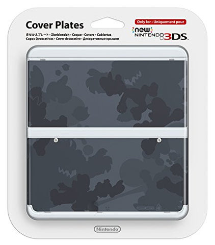 Image for New Nintendo 3DS Cover Plates No.045 (Mario Camouflage Grey)