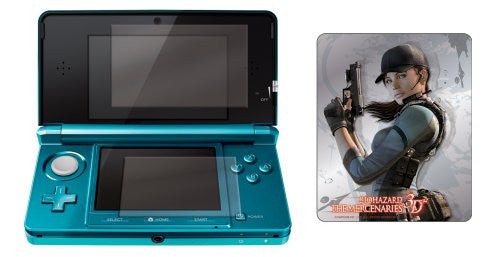 Image 2 for BioHazard: The Mercenaries 3D Screen Protector for 3DS (Jill)