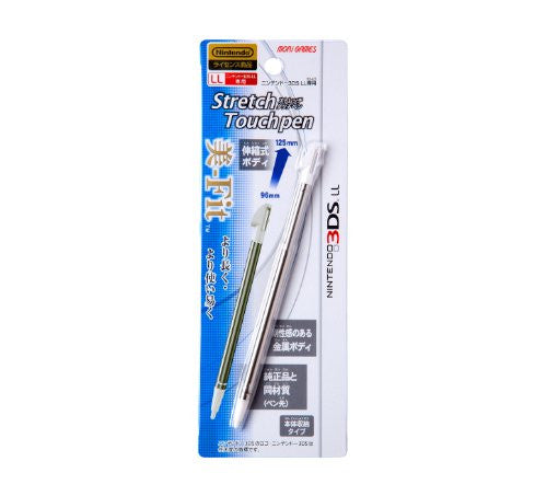 Image 1 for Stretch Touch Pen for 3DS LL (White)