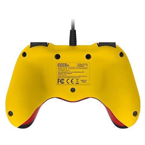 Image 3 for Hori Official Pokkén Tournament Controller for Wii U - Pikachu Version