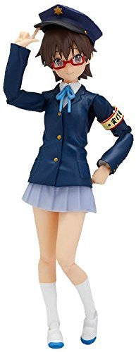 Image 4 for K-ON! - Manabe Nodoka - Figma #EX-005 - Uniform Ver.
