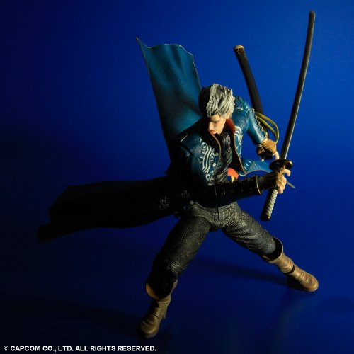 Image 2 for Devil May Cry 3 - Vergil Sparda - Play Arts Kai (Square Enix)