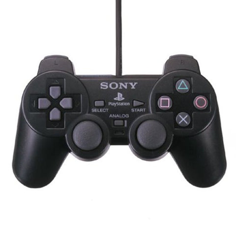 Playstation 2 Analog Controller Black (Dualshock2)