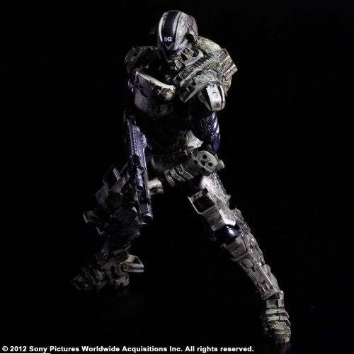 Image 3 for Starship Troopers: Invasion - Major Henry Varro - Play Arts Kai (Square Enix)