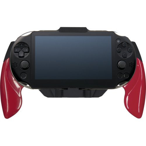 Image 7 for Rubber Coat Grip for PlayStation Vita Slim (Red)
