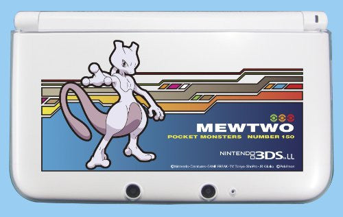 Image 1 for Pocket Monsters Hard Cover for Nintendo 3DS LL (Mewtwo)