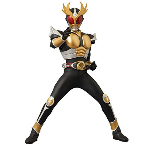 Image for Kamen Rider Agito - Kamen Rider Agito Ground Form - Real Action Heroes No.594 - 1/6 - Renewal ver. (Medicom Toy)