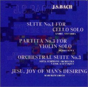Image for ORCHESTRAL SUITE No.3 & others / J.S. BACH