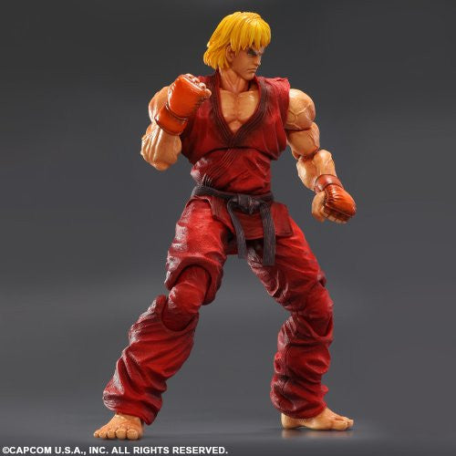 Image 3 for Super Street Fighter IV: Arcade Edition - Ken Masters - Play Arts Kai (Square Enix)