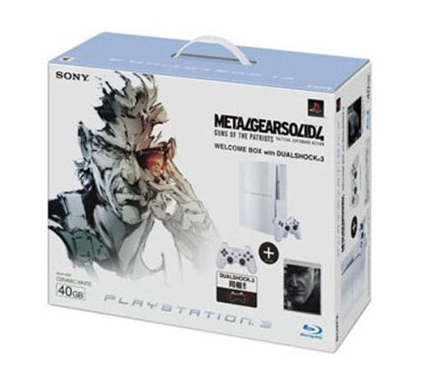 PS3 MGS4 Welcome Box with Dual Shock 3 (Ceramic White)